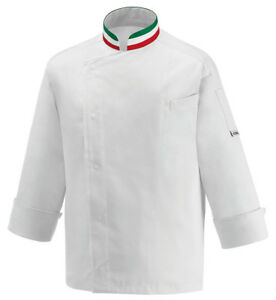 GIACCA-CUOCO-BANDIERA-COLLETTO-ITALIA-EGOCHEF-MADE-IN-ITALY-FLAG-CHEF-TRICOLORE