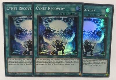 SDPL-EN021 x3 Cynet Storm 1st Edition Common