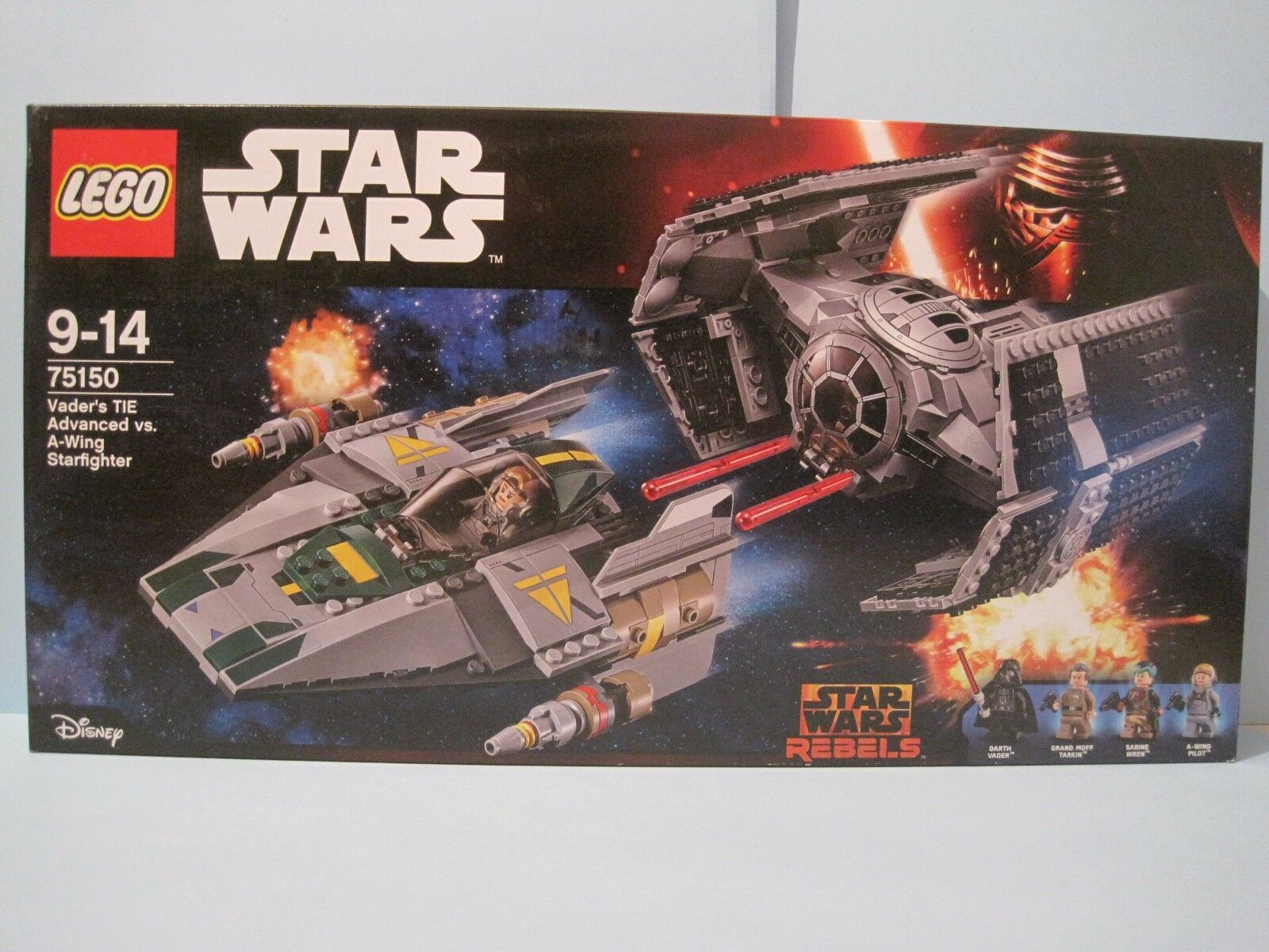 LEGO STAR STAR STAR WARS (75150) Vader's TIE Advance Vs A-Wing Starfighter NEW & SEALED 50949c