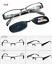Polarized-Magnetic-Clip-on-Sunglasses-Eyeglass-Frames-Fishing-Glasses-Rx miniature 47