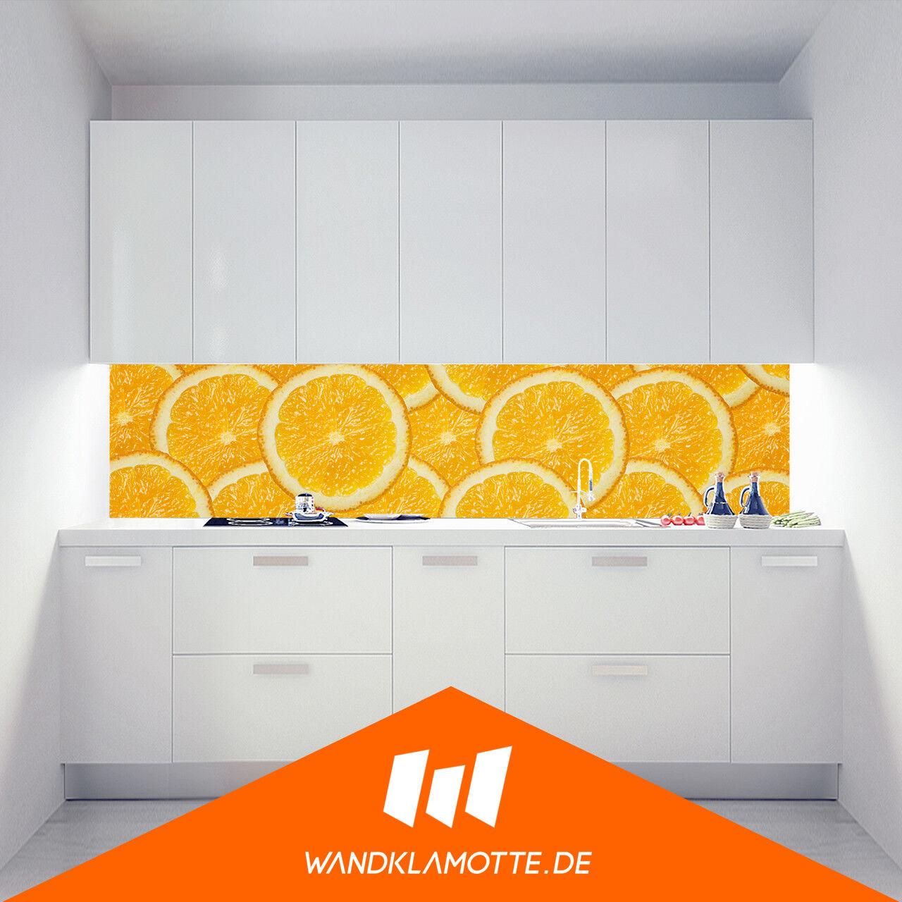 Parouge de Cocina Aluminio Compuesto Estufa Prougeección contra Salpicaduras Orange