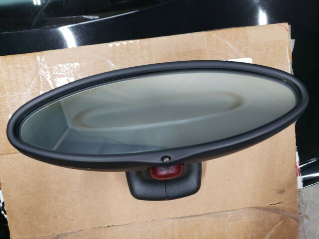BMW OEM OEM E39 M5 FRONT WINDSHIELD REAR VIEW MIRROR OVAL SHAPE AUTO DIM DIMMING