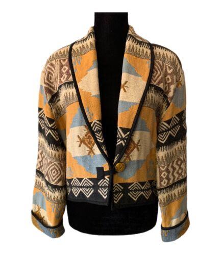 Flashback Indian Blanket Jacket Chimayo Southweste