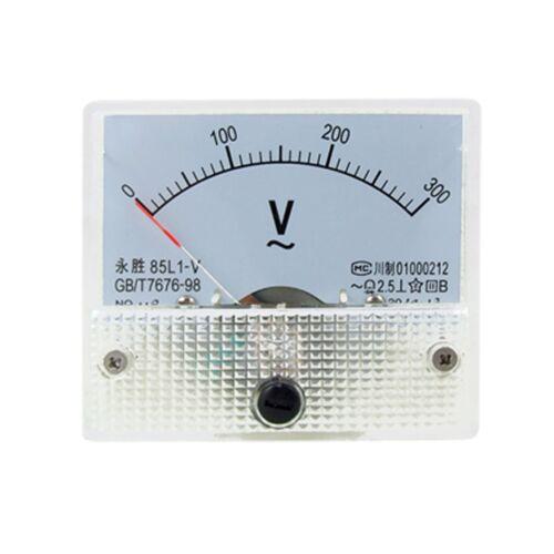 AC Analog Meter Panel 300V  Voltage Meter Voltmeters 85L1 0-300 V Gauge
