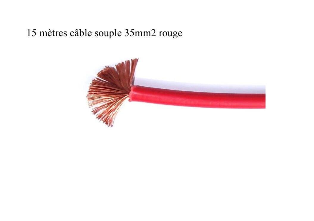 Batteriekabel 35 flexibel 35 Batteriekabel mm2 rot 15 meter 4fcbde