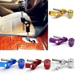 Purple Aluminum K-Tuned Shift Knob Extender Adjustable Shifter Lever+Shift Knob