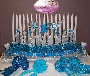 Image Is Loading Sweet 16 Candelabra Candle Holder Lighting Ceremony