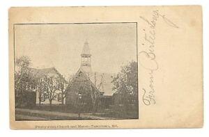 TANEYTOWN-MD-Presbyterian-Church-amp-Manse-Antique-PC