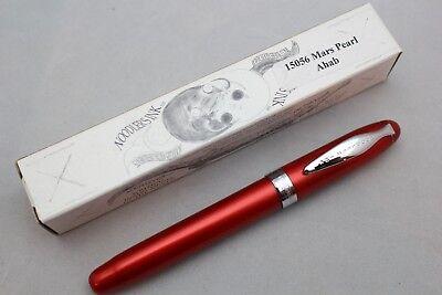 Noodler/'s Ink Ahab Piston Fountain Pen Ahab/'s Pearl Steel Flex Nib 15043