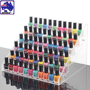 Image Is Loading 6 Tiers Acrylic Nail Polish Stand Display Rack