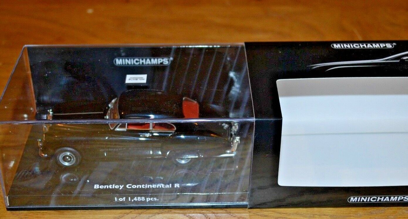 Minichamps 1 43 Bentley Continental R Mint Condition; Limited Edition