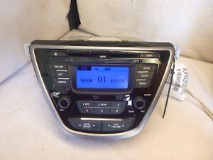 2011 2012 2013 Hyundai Elantra Radio Cd MP3 XM 96170