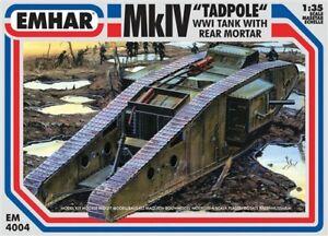 EMHAR-EM-4004-MklV-Tadpole-WWl-Tank-Rear-Mortar-Plastic-Kit-1-35-Scale-T48-Post