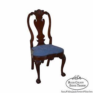 Image Is Loading Kindel Winterthur Philadelphia Queen Anne Side Chair A