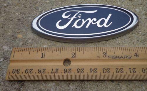 "Ford Focus trunk emblem badge decal logo 4/"" OEM Factory Genuine Stock blue oval"