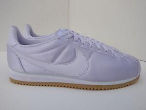 purchase cheap first look buy Détails sur Nike Femme classic cortez Satin UK 9 à peine Raisin Blanc Gomme  Violet 920440500- afficher le titre d'origine