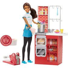 Barbie I Can Be Spaghetti Chef Career A.A Doll  W/ Accessories NIB