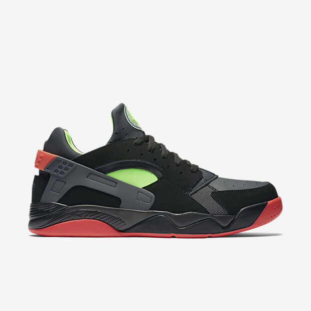 819847-001 Retro Nike Air Flight Huarache Retro 819847-001 Low Blk/vert-Crimson 8-12 NIB 12d3a3