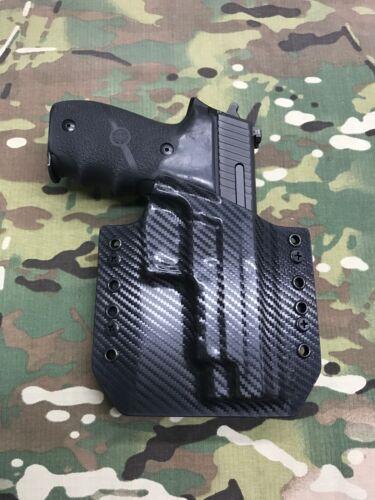 Black Carbon Fiber Kydex SIG P220R Holster
