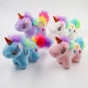 Unicorn Stuffed Animal Plush Toys key chain DOLL Cute High Quality ... 38c86980e7