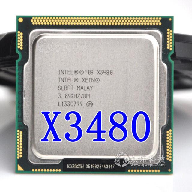 Intel Xeon X3480 Desktop Processor 3480 Quad-Core 3.06GHz 8MB L3 Cache LGA 1156