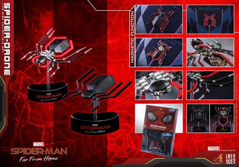 Hot Juguetes 1 1th Spider-Man lejos de casa Spider juguete figura de LMS011 de tamaño real de drone