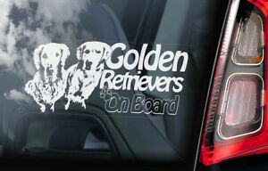 CHOCOLATE LABRADOR Car Sticker Gun Dog Window Sign Bumper Decal Gift Pet V03