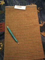 1/4 Yd 100% Wool For Rug Hooking Or Wool Applique Train Tracks