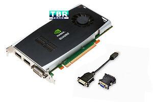 Dell Nvidia Quadro FX1800 768MB GDDR3 PCI-E x16 Video Graphics Card