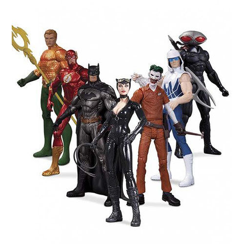 Dc Comics The The The New 52 Super Heroes Vs. Super Villains Action Figure 7-Pack - New dfd7a9