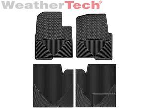 weathertech all weather floor mats for ford f 150 crew cab 2010 2014 black ebay. Black Bedroom Furniture Sets. Home Design Ideas