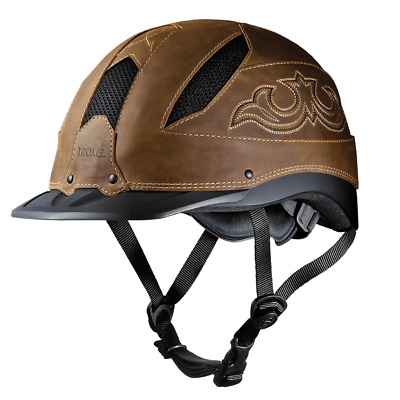 Troxel Cheyenne Western Reiten Helm Surefit pro Sicherheit Niedrigprofil Pferd