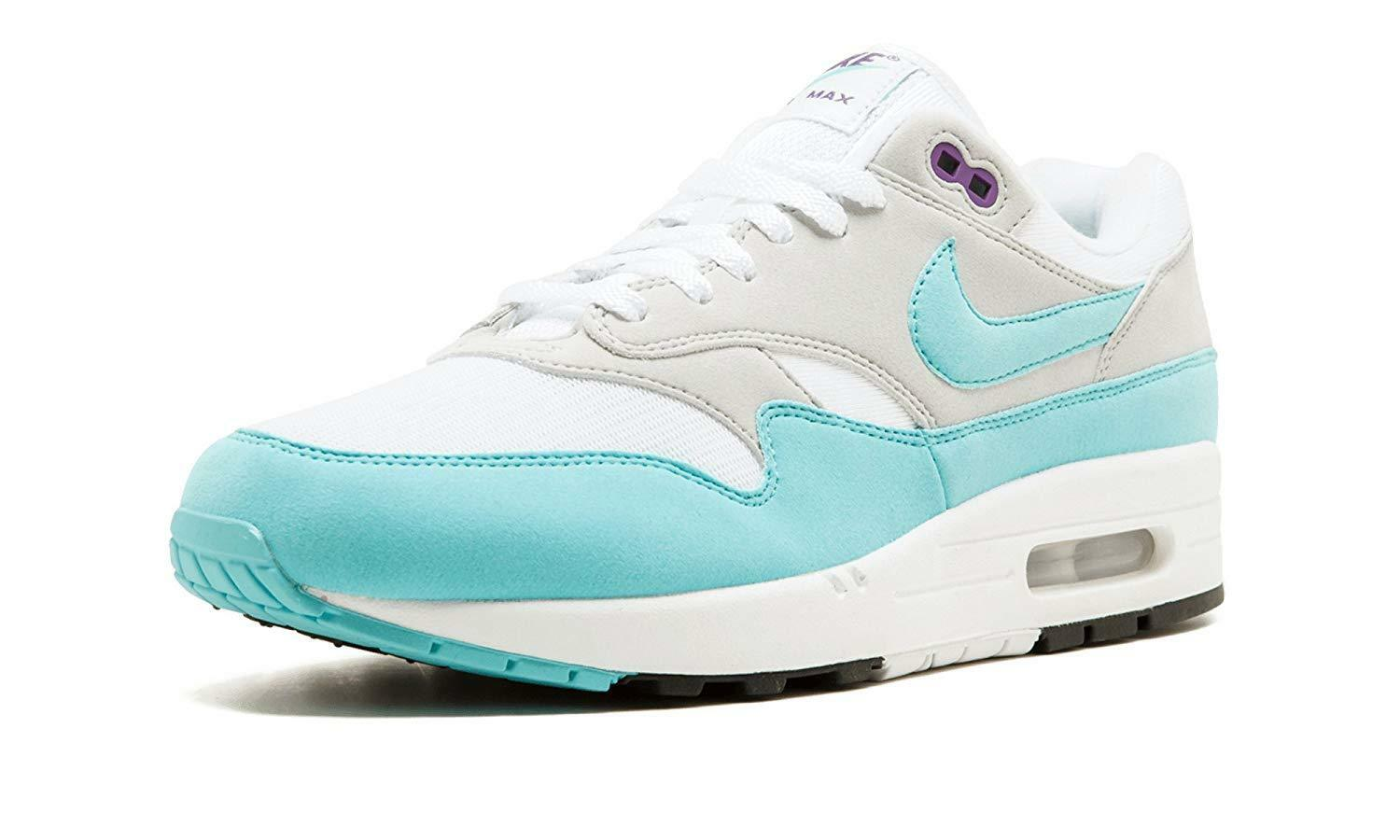 Nike Air Max (908375 1 Anniversary White/Aqua-Neutral Grey-Black (908375 Max 105) 1ae74e