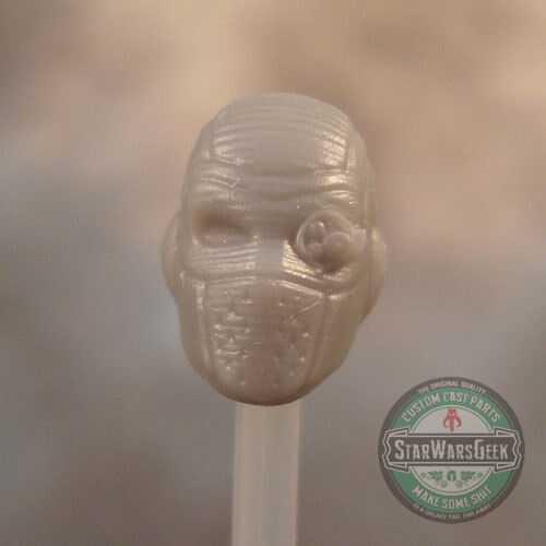 "MH428 Custom Cast Male head for use with 3.75/"" GI Joe Star Wars Marvel figures"