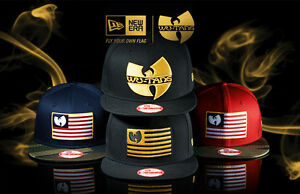 6effd9c1bfed4 Authentic WU TANG Clan Men Hat NEW ERA Limited Edition Black Cap Wu ...