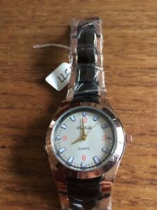 New-Mens-ORLANDO-Bronzed-SS-Watch-W277