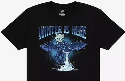 Icy Viserion T-Shirt Box Lunch Exclusive 2XL New Funko POP