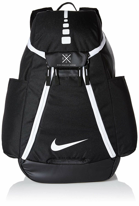 Nike Hoops Elite Max Air Team 2.0 Basketball Backpack (NEW BlackWhite)