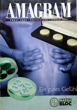Amagram AMWAY Berater Zeitschrift Hymm 1 2000 Magna Bloc Prospekt