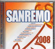SANREMO 2008 CD FINLEY GIANLUCA GRIGNANI MAX GAZZE' CAMMARIERE MARIO VENUTI