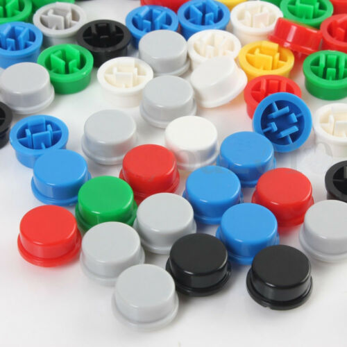 140PCS Runden Tactile Button Cap Kits 9.58*5.1mm for 12*12*7.3mm Tact Schalter