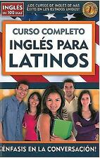Curso Completo Ingles para Latinos by Aguilar (2010, Paperback)