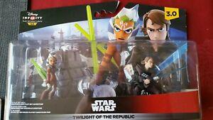 Star wars Disney Infinity 3.0 Twilight of the Republic brand new gift Play Set