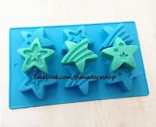 Shining Star Silicon Rubber Soap Cake Jelly Chocolate Mold Molder Bakeware