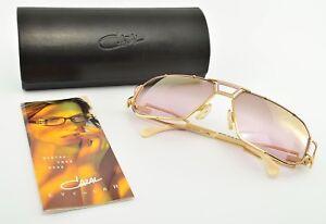Beliebte Marke Cazal Mod 946 Col 487 Sonnenbrille Luxury Sunglasses Pilot Gold Lila Case Nos Vintage-accessoires