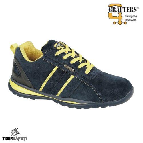Grafters M090 SB SRC Steel Toe Cap Qualité Sport Style Baskets De Sécurité Chaussures