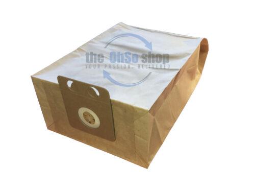 GD910 10 x Nilfisk Sacchetti per aspirapolvere per adattarsi-serie di famiglia GD911