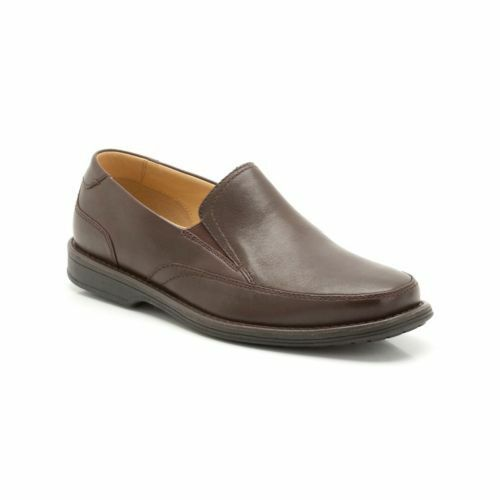 Clarks Uomo shapwick House - CALZATA LARGA MARRONE SCURO Lea - Non stringato UK
