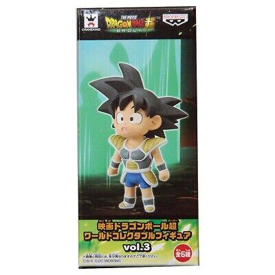 3 Banpresto Dragon Ball Super Movie World Collectable Figure Vol Young Vegeta