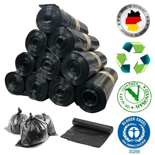 Müllsäcke schwarz 250x 80L Typ 120 Sack Abfallbeutel Mülltüten Tüten STARK TOP